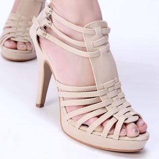 Buy Kvoll Multi-Strap Platform Sandals 1022892450