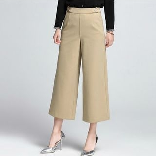 Cropped Wide Leg Pants 1057033801