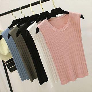 Sleeveless Knit Top 1051656339