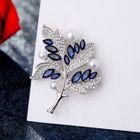 Embellished Leaf Brooch 1596