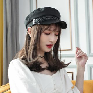 Image of Long Full Wig With Cap - Straight