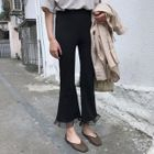 Boot-cut Pants 1596