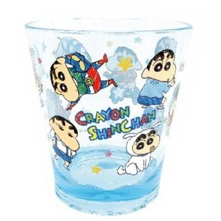 Crayon Shin-Chan Plastic Clear Cup (Blue) 1059945662