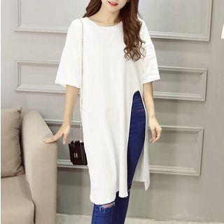 T-Shirt | Sleeve | Dress | Slit