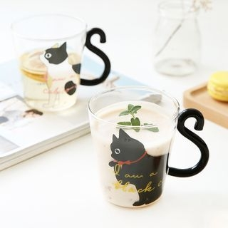 Couple Matching Cat Cup 1060947981