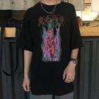 Couple Matching Printed Short-Sleeve T-Shirt 1596