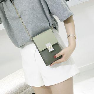 Image of Color Block Mobile Phone Crossbody Bag