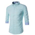 3/4 Sleeve Shirt Pink - L от YesStyle.com INT