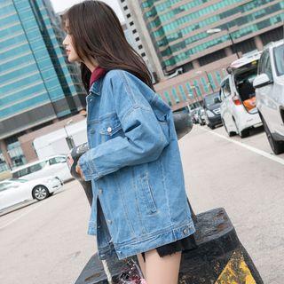 HYNE Oversized Denim Jacket