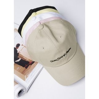 Lettering Colored Baseball Cap 1060877751