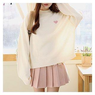 Drop-Shoulder Knit Top 1056897933
