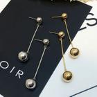 Ball Bar Drop Earrings 1596