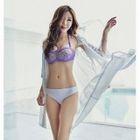 Set: Patterned Bikini + Cover-Up 1596