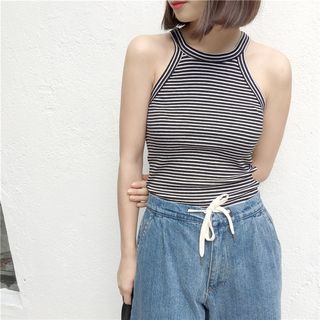 Ribbed Tank Top 1050317114