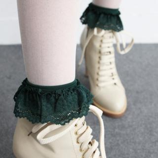 Buy HARU Lace Trim Ankle Socks 1022242775