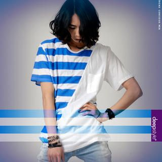 Buy deepstyle Stripe T-Shirt 1022702088