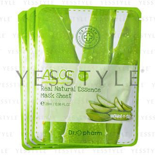 Real Natural Essence Mask Sheet - Aloe 28ml/0.98oz x 3 pcs