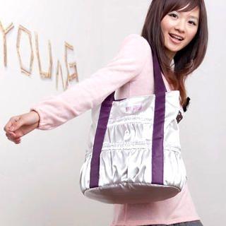 Buy Smoothie Contrast-Trim Smocked Tote 1023017070