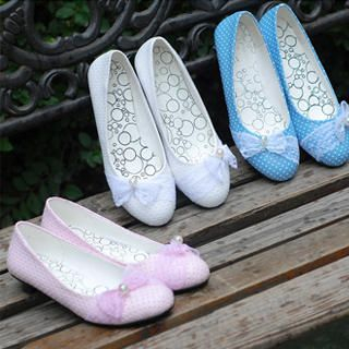 "Buy KAWO Lace ""Bow"" Kitten Heels 1023018852"