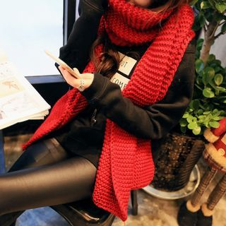 Ribbed Knit Scarf 1055465394