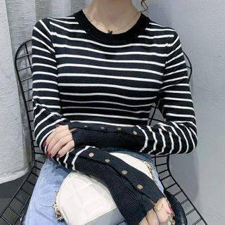 Long-sleeve | Stripe | Top