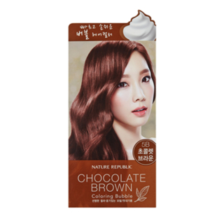 Nature Republic - Hair and Nature Coloring Bubble (#5B Chocolate Brown) #5B Chocolate Brown 1054840784