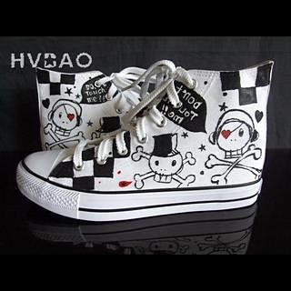 Buy HVBAO Skulls High-Top Sneakers 1014069908