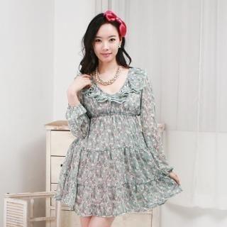 Buy Spring girl Empire Chiffon Dress 1022511068