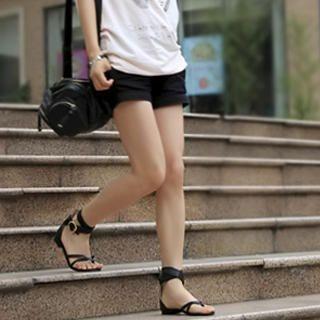 Buy KAWO Wrap-Ankle Flat Sandals 1023003080