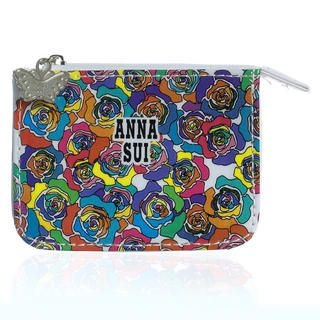 Buy Anna Sui – Multicolor Rose Print Coin Purse (Small) 1 pc