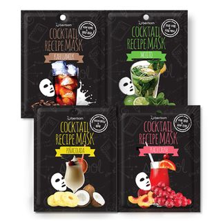 Image of Berrisom - Cocktail Recipe Mask 10pcs (4 Types) Mojito
