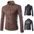 Zip Stand-collar Jacket 1596