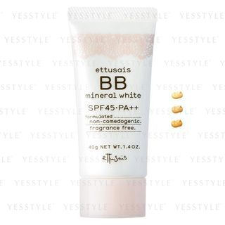 Image of ettusais - BB Mineral White SPF 45 PA++ 40g - 3 Types