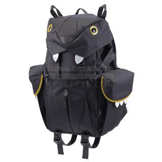 Big Cats Backpack (L) Black - L Size