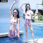 Set: Print Bikini + Skirt 1596