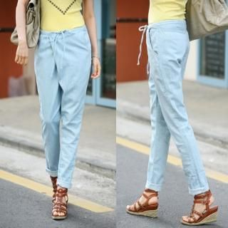 Buy Jean Stone Baggy Pants 1022816106