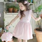 Kids Crochet Sleeveless Dress 1596