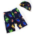 Kids Set: Swim Trunks + Swim Cap 1596