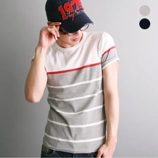 Picture of STYLE21 Stripe T-Shirt 1022994639 (STYLE21, Mens Tees, South Korea)