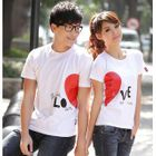 Short-Sleeve Printed Couple T-Shirt от YesStyle.com INT