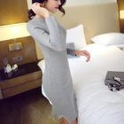 Ribbed Knit Dress 1596
