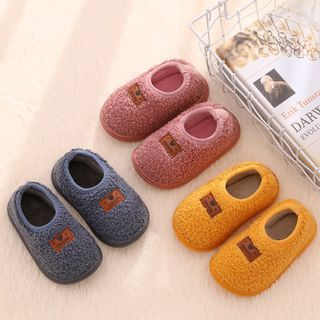 Image of Kids Fleece Slip Ons