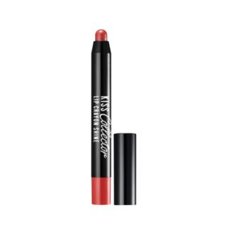Image of BANILA CO - Kiss Collector Lip Crayon Shine (8 Colors) #OR01 Soda Orange