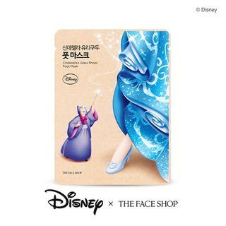The Face Shop - Disney Cinderellas Glass Shoes Foot Mask 1pair 1057631581