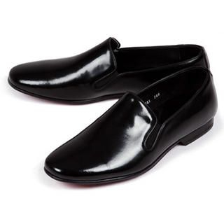 Picture of Purplow Handmade Comfort Slip-On Black 1004910064 (Slip-On Shoes, Purplow Shoes, Korea Shoes, Mens Shoes, Mens Slip-On Shoes)