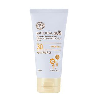 The Face Shop - Natural Sun Eco Baby Mild Sun SPF 30 PA++ 50ml 50ml