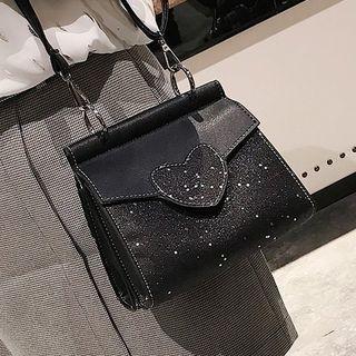 Glittered Crossbody Bag