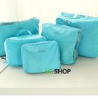 Set of 5: Travel Packing Cubes 1596