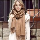 Plaid Winter Scarf Camel от YesStyle.com INT