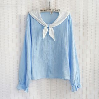 sailor-collar-blouse